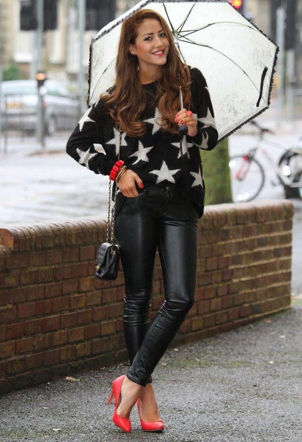 Leather Pants And Leggings For Trendy Outfit - Style Motivation