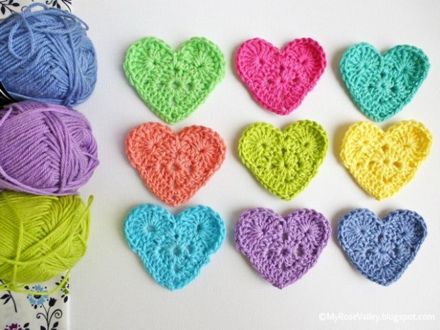 Easy Crochet Patterns Pictures to pin on Pinterest