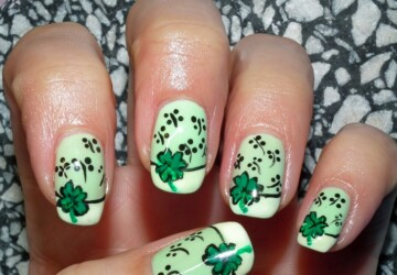 Decorate your Nails in St. Patrick's Day Style - St. Patrick's Day, St. Patrick nails, nails decoration, nails