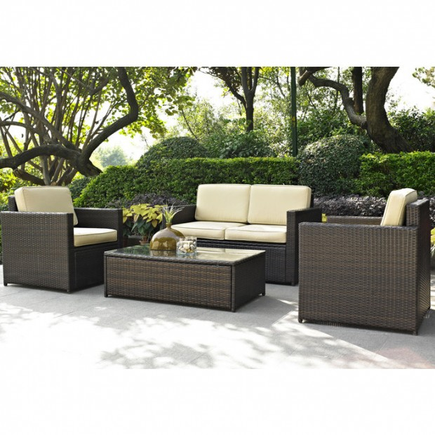 16 Relaxing Patio Conversation Set Designs for Spring (4)