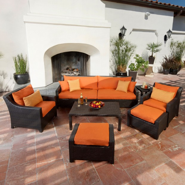 16 Relaxing Patio Conversation Set Designs for Spring (8)