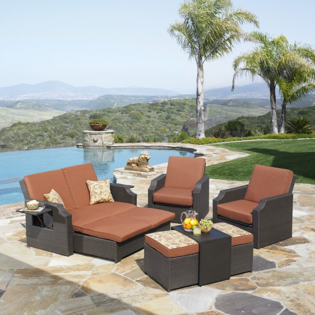 16 Relaxing Patio Conversation Set Designs for Spring (9)