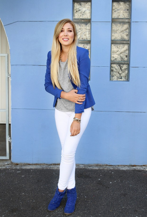 17 Amazing Outfit Ideas With Colored Blazers For Stylish