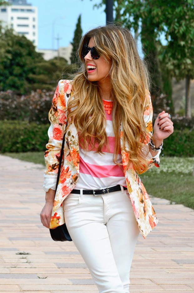 17 Amazing Outfit Ideas with Colored Blazers for Stylish Spring Look