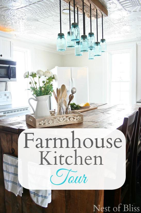 17 Creative DIY Projects for Unique Decorations for Your ... on Rustic:fkvt0Ptafus= Farmhouse Kitchen  id=11676