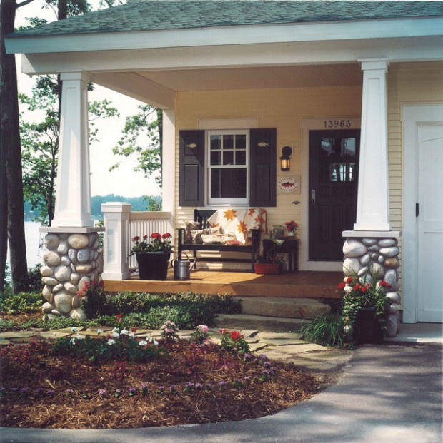 Porch Pictures For Design And Decorating Ideas: 17 Great Small Porch Design Ideas