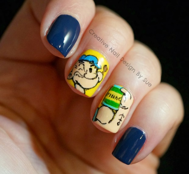 17 Interesting Ideas for Your Next Nail Art   (15)