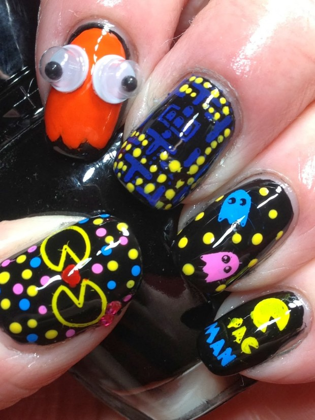 17 Interesting Ideas for Your Next Nail Art   (9)