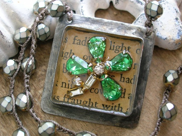 17 Lovely Handmade Jewelry Pieces for St. Patrick's Day (15)