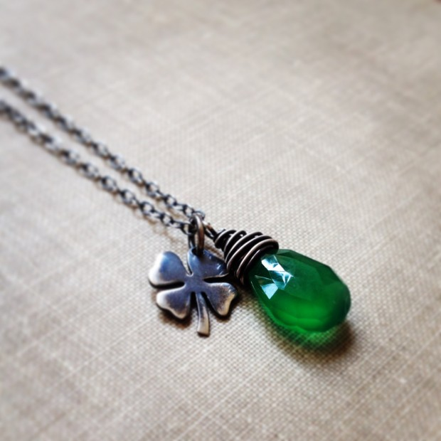17 Lovely Handmade Jewelry Pieces for St. Patrick's Day (17)