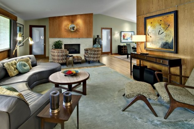14 Mid Century Modern Living Room Design Ideas