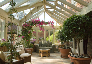 15 Amazing Conservatory Design Ideas  - sunroom, garden, Flower, Conservatory