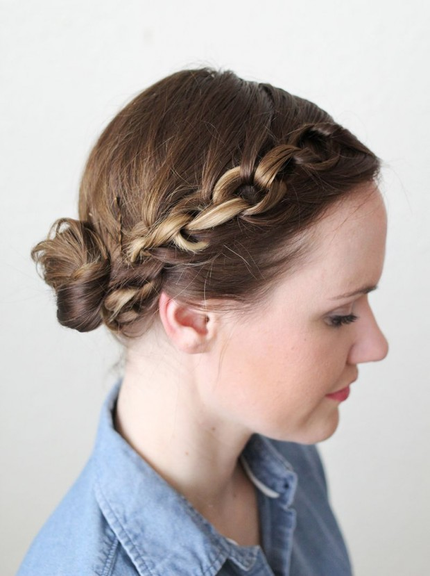 18 Amazing Ideas and Tutorials for Elegant Hairstyle (12)