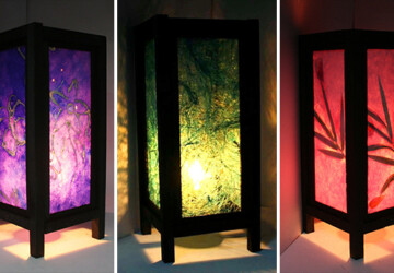 18 Elegant Handmade Lanterns for a Romantic Ambient - wood, valentine's, valentine, shade, romantic, red, purple, Natural, love, light, lantern, lampshade, Lamp, heart, handmade, Flower, day, blue, bamboo
