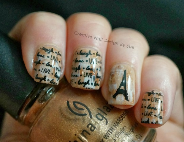 18 Gorgeous Vintage Inspired Nail Art Ideas - 18 Gorgeous Vintage Inspired Nail Art Ideas - Style Motivation