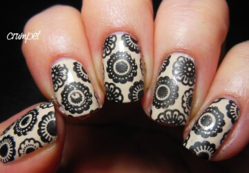 18 Gorgeous Vintage Inspired Nail Art Ideas - vintage nail art, vintage, nail art ideas