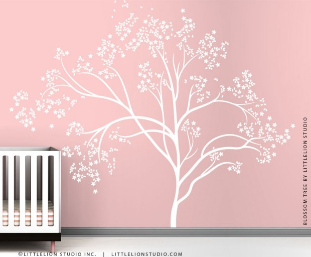 19 Cute Wall Decals in The Spirit of Spring (1)