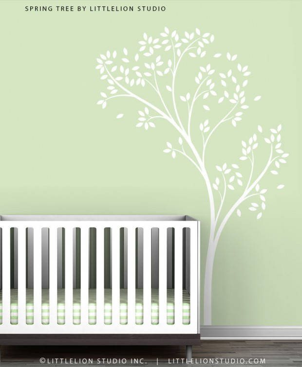 19 Cute Wall Decals in The Spirit of Spring (10)
