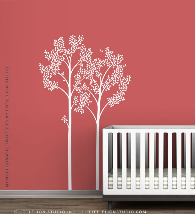 19 Cute Wall Decals in The Spirit of Spring (11)