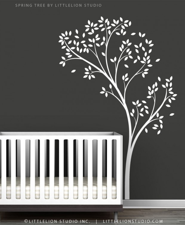 19 Cute Wall Decals in The Spirit of Spring (12)