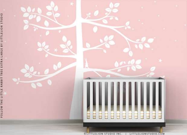 19 Cute Wall Decals in The Spirit of Spring (13)