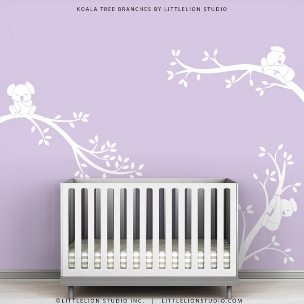 19 Cute Wall Decals in The Spirit of Spring (15)