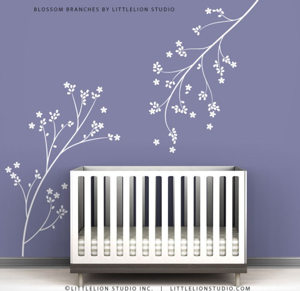 19 Cute Wall Decals in The Spirit of Spring (16)