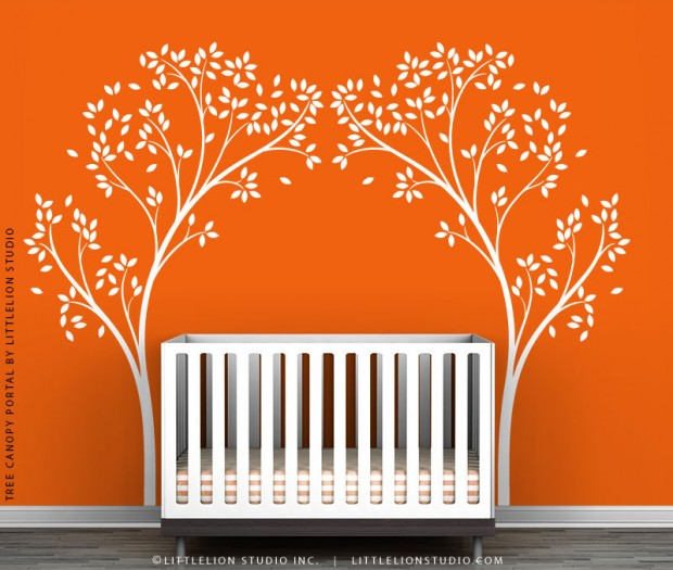 19 Cute Wall Decals in The Spirit of Spring (2)