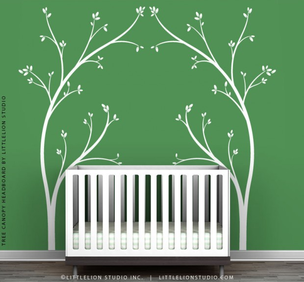 19 Cute Wall Decals in The Spirit of Spring (3)