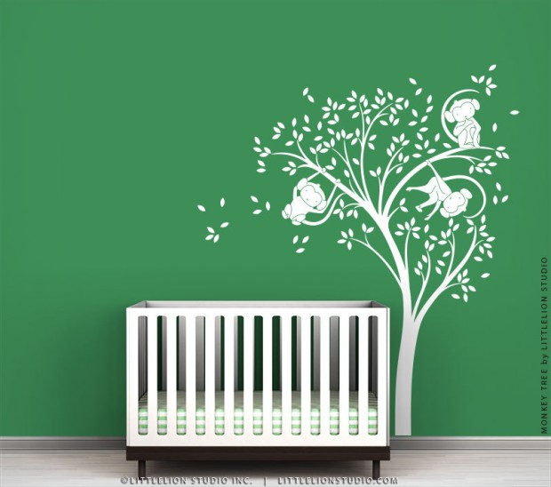 19 Cute Wall Decals in The Spirit of Spring (4)