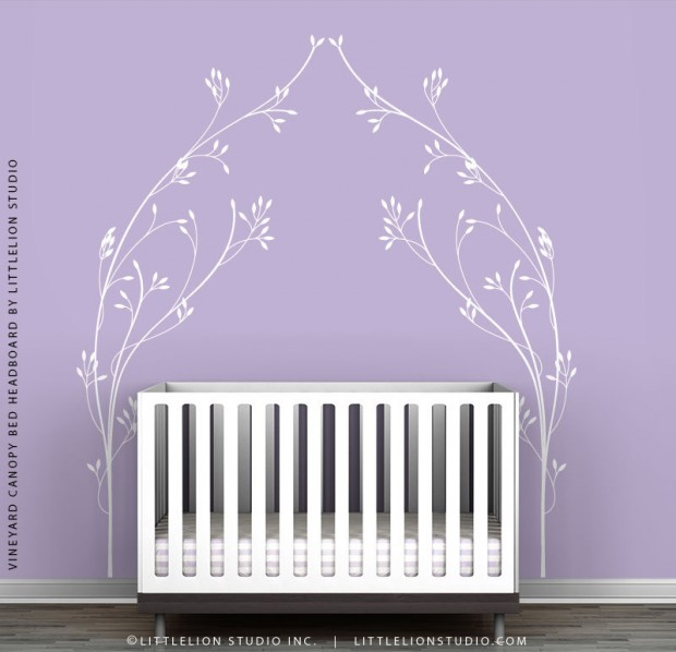 19 Cute Wall Decals in The Spirit of Spring (6)