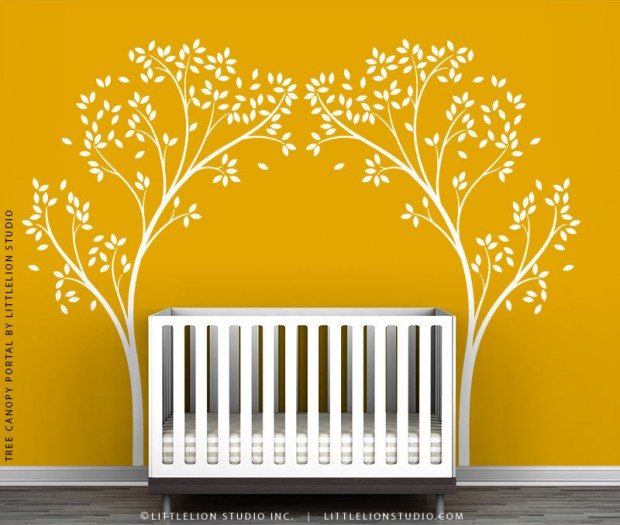 19 Cute Wall Decals in The Spirit of Spring