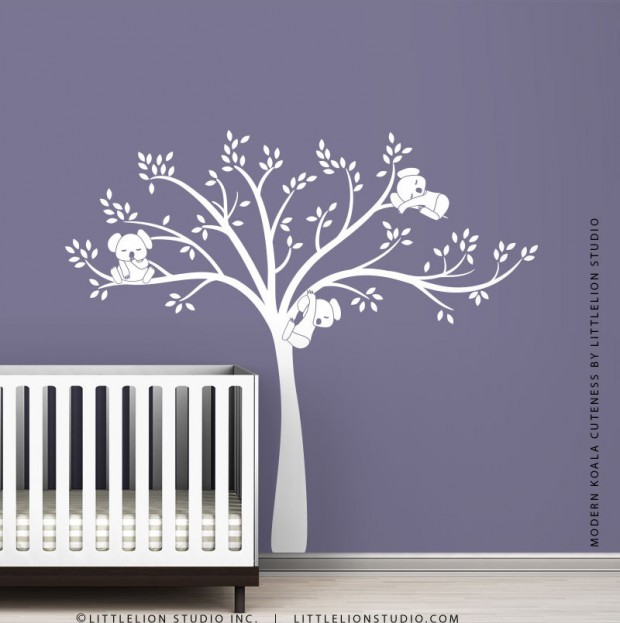 19 Cute Wall Decals in The Spirit of Spring (8)
