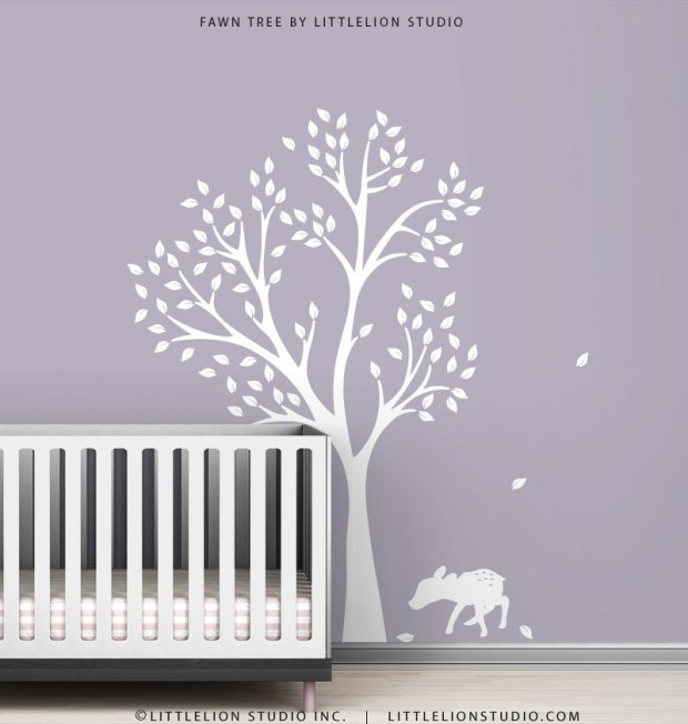 19 Cute Wall Decals in The Spirit of Spring (9)