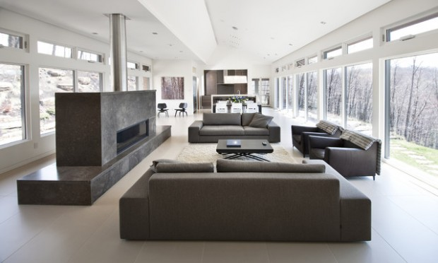 19 modern minimalist home interior design ideas style for Modern minimalist house interior design