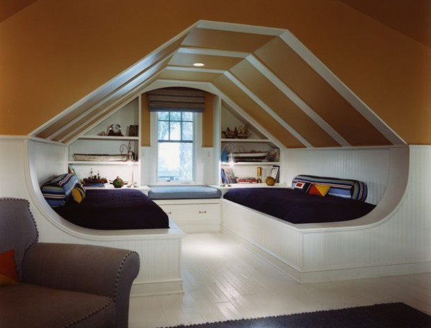 16 smart attic bedroom design ideas - Bedrooms Design Ideas