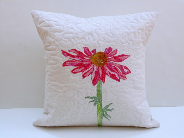 19 Springtime DIY Pillow Decoration Designs (14)