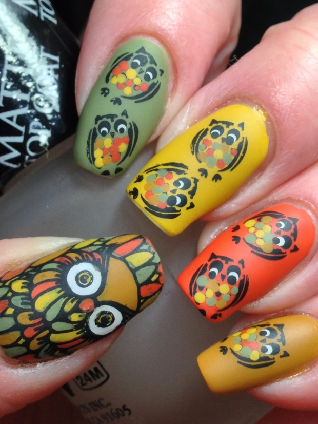 19 Unique Colorful Nail Art Ideas