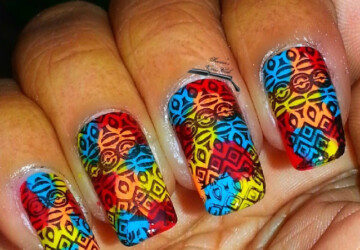 19 Unique Colorful Nail Art Ideas - nail art ideas, colorful nail art, colorful nail