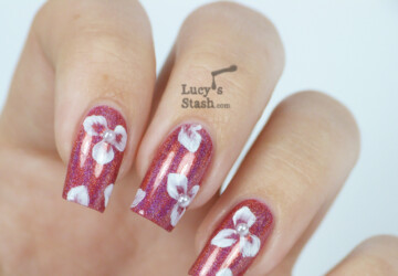 20 Amazing Nail Art Ideas from Lucy's Stash Blog - nail art ideas, Nail Art