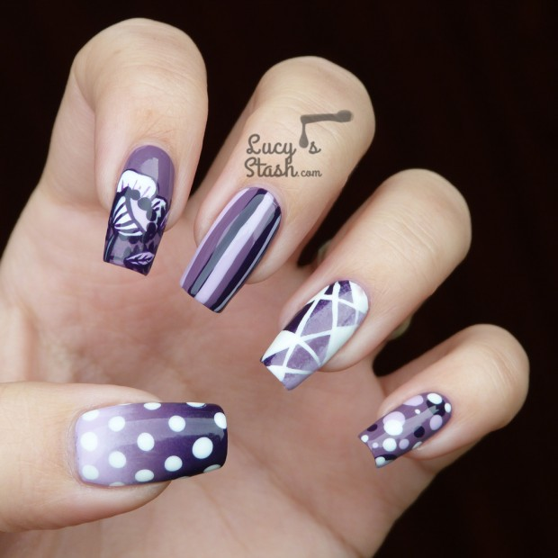 20 Amazing Nail Art Ideas from Lucy's Stash Blog (4)
