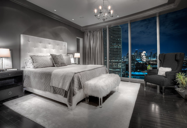 20 beautiful gray master bedroom design ideas style for Best looking bedrooms