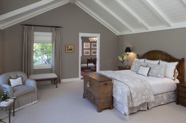 Gray master bedroom ideas for Bedroom ideas grey bed