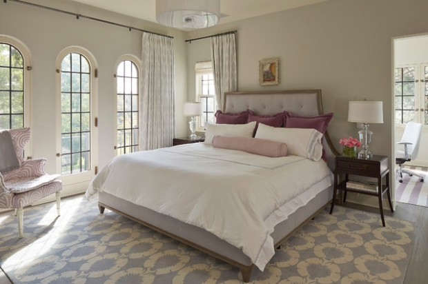 20 Beautiful Gray Master Bedroom Design Ideas  6 Beautiful Purple Master Bedrooms