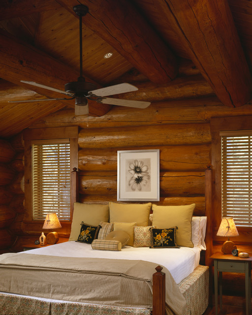 19 Log Cabin Home Décor Ideas: 17 Cozy Rustic Bedroom Design Ideas