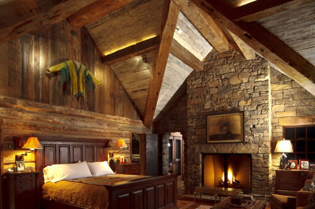 17 Cozy Rustic Bedroom Design Ideas