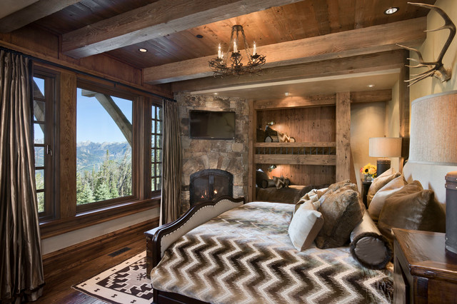 Pics Photos Rustic Master Bedroom Design Decorating