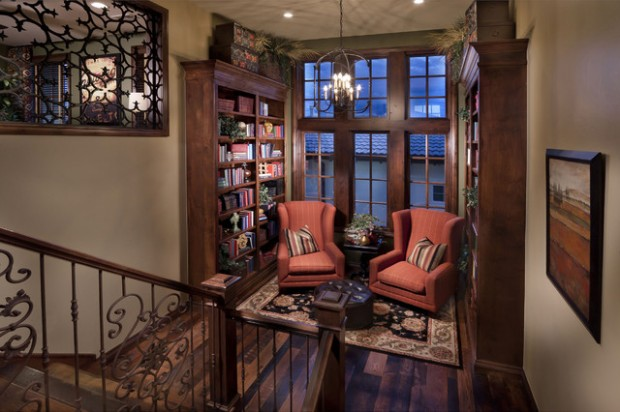 20 Elegant Reading Room Design Ideas for All Book Lovers (9)