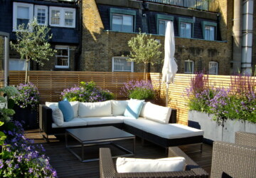 17 Elegant Roof Terrace Design Ideas - terraces, Terrace, rooftop design, rooftop, roof terace design, roof terace