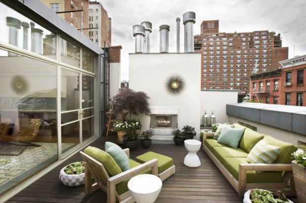 17 Elegant Roof Terrace Design Ideas